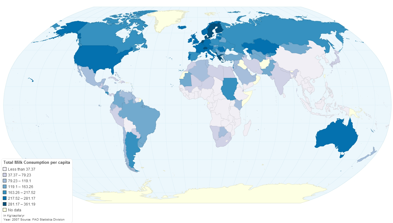 Commodities indexmundi blog page 2 milk consumption per capita worldwide gumiabroncs Image collections