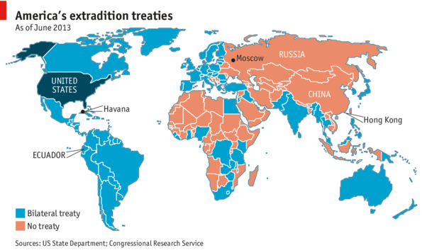 american extradition treaties