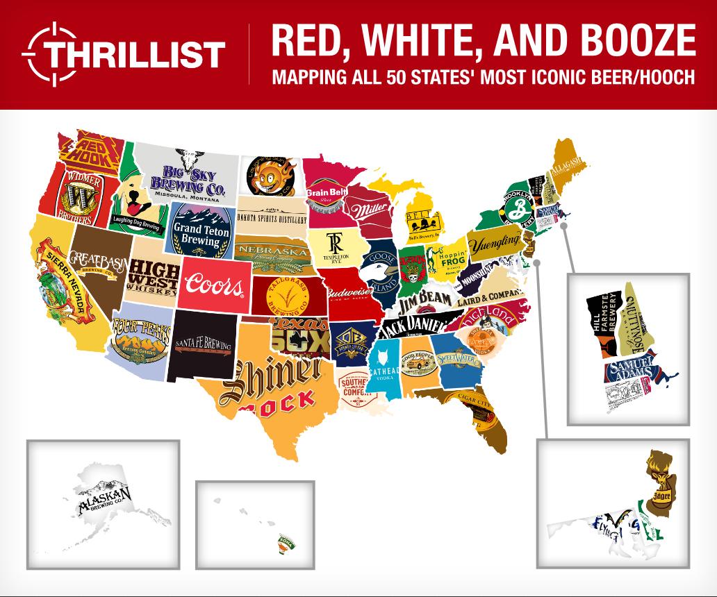 us favorite beer brands by state 2013