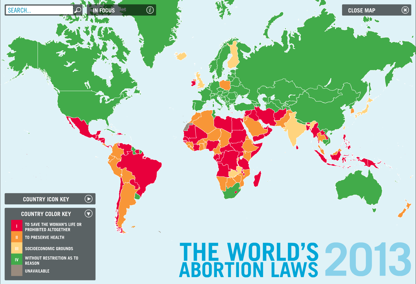 world abortion laws 2013