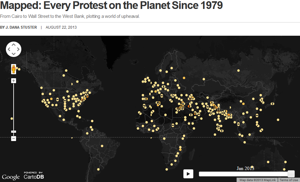 every protest since 1978
